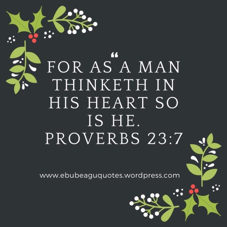 Proverbs 23 Verse 7
