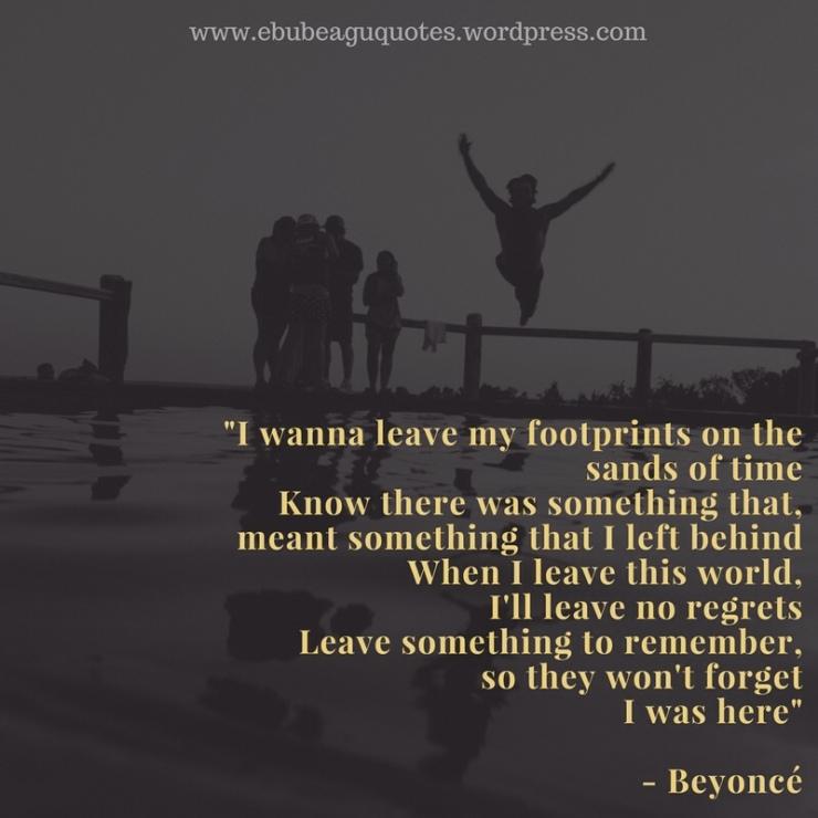 Beyoncé- I Was Here